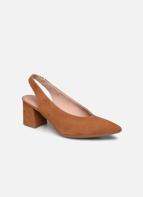 Zapatos de tacón Dorking Sofi D7806 Marrón vista de detalle / par