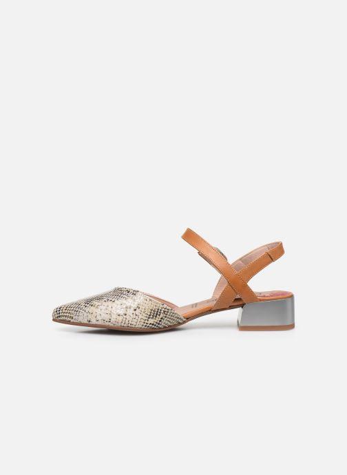 Sandales et nu-pieds Dorking Sun 8135 Beige vue face
