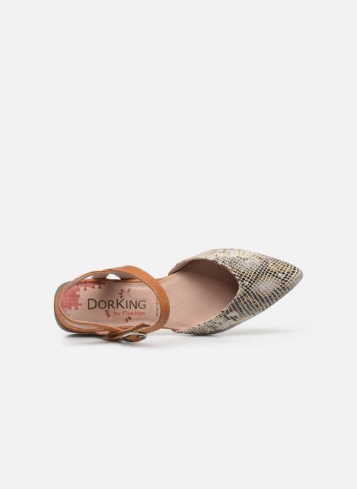 Sandales et nu-pieds Dorking Sun 8135 Beige vue gauche