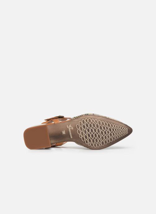 Sandales et nu-pieds Dorking Sun 8135 Beige vue haut