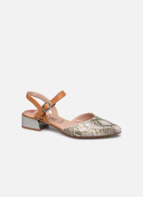 Sandales et nu-pieds Dorking Sun 8135 Beige vue détail/paire