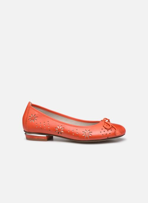 Ballerines Dorking Irem 8119 Orange vue derrière