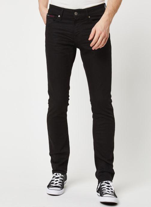 Kleding Tommy Jeans SLIM SCANTON BLCO Zwart detail