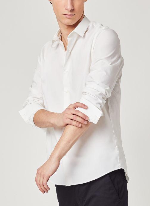 Vêtements Accessoires Ck Chest Logo Slim Stretch Shirt