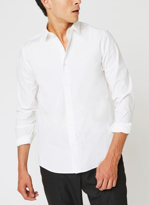 Kleding Accessoires Ck Chest Logo Slim Stretch Shirt