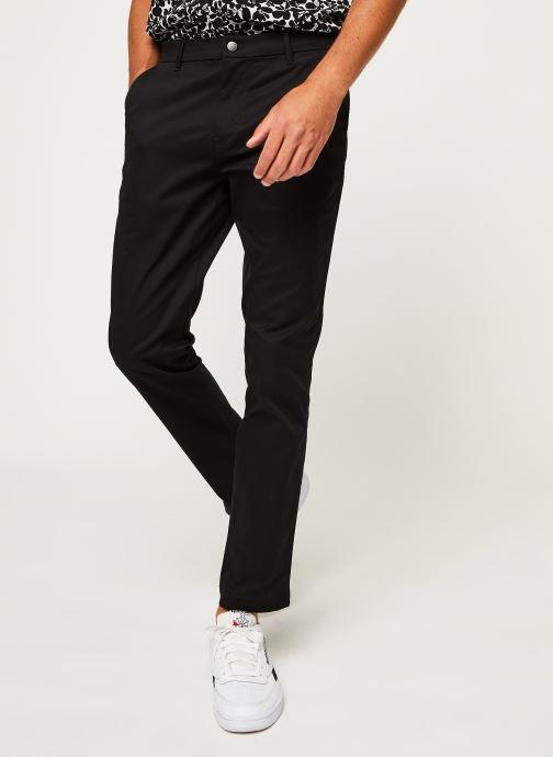 Vêtements Calvin Klein Jeans Ckj026 Slim Stretch Chino Pant Noir vue détail/paire