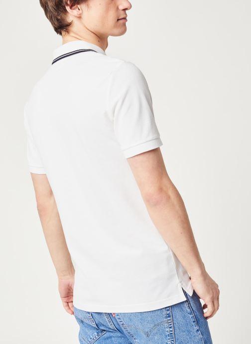 Kleding Calvin Klein Jeans Ck Essential Tipping Slim Polo Wit model