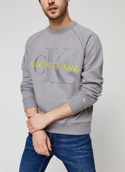 Vêtements Accessoires Vegetable Dye Monogram Crew Neck