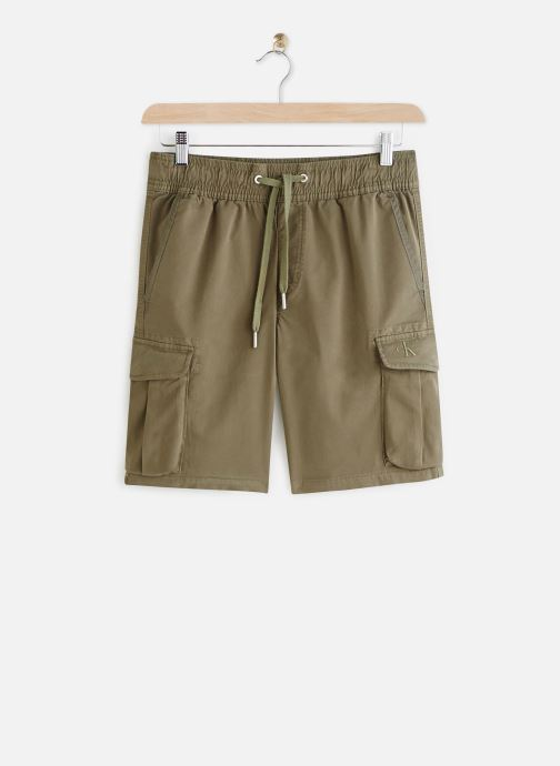 Simple Washed Cargo Short