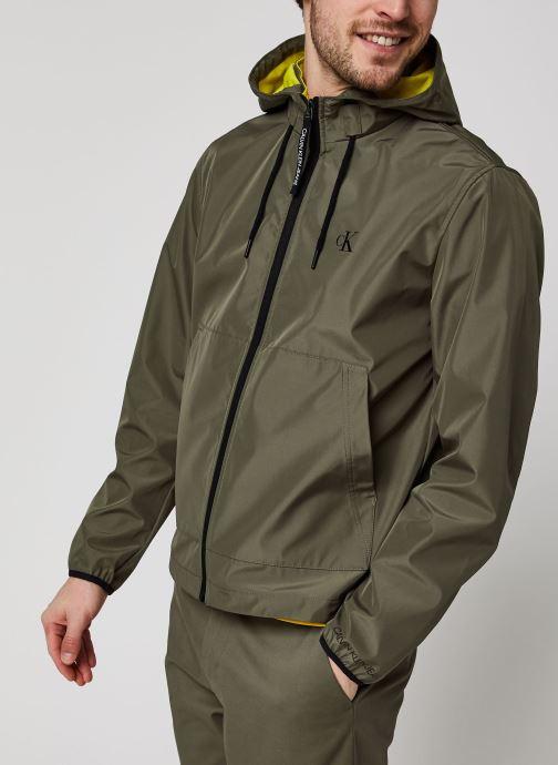 Kleding Accessoires Jersey Lined Hooded Jacket