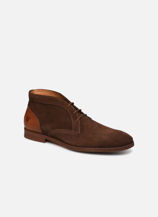 Ankelstøvler Kost COMTE 5 Brun detaljeret billede af skoene