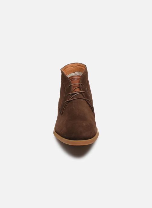 Zapatos con cordones Kost COMTE 5C Marrón vista del modelo