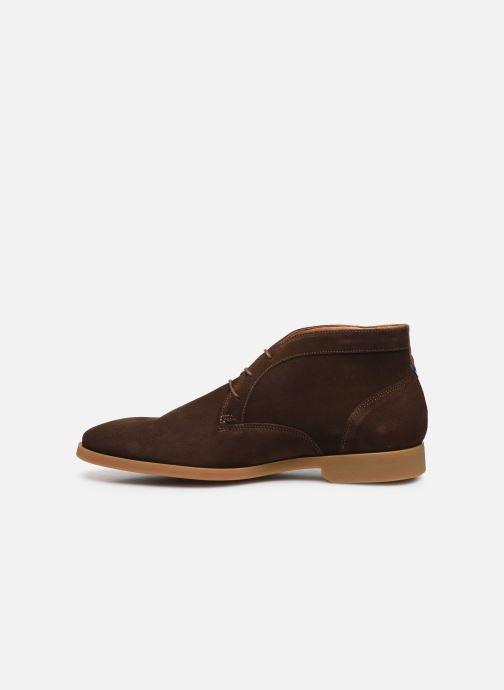 Zapatos con cordones Kost COMTE 5C Marrón vista de frente
