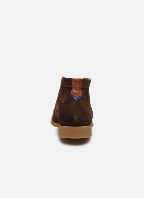 Zapatos con cordones Kost COMTE 5C Marrón vista lateral derecha