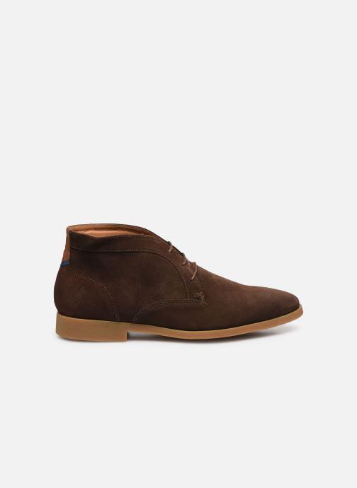 Chaussures à lacets Kost COMTE 5C Marron vue derrière