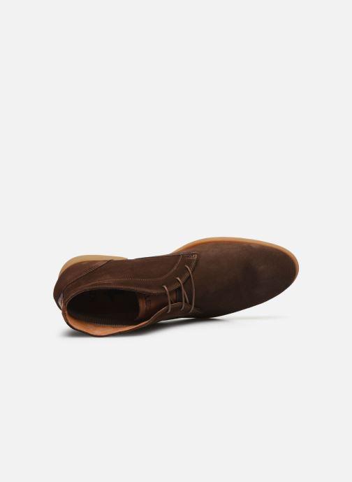 Zapatos con cordones Kost COMTE 5C Marrón vista lateral izquierda