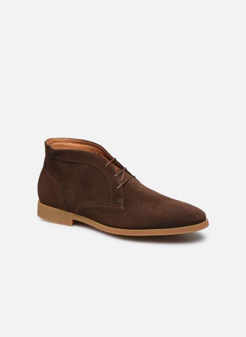 Zapatos con cordones Kost COMTE 5C Marrón vista de detalle / par