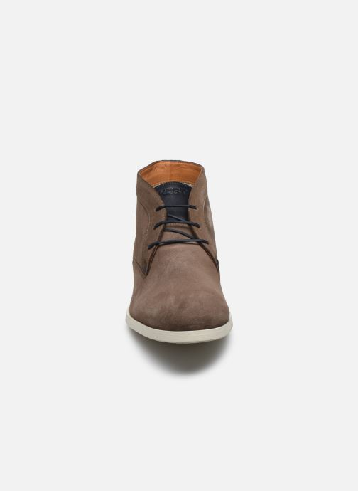 Chaussures à lacets Kost COMTE 5C Beige vue portées chaussures