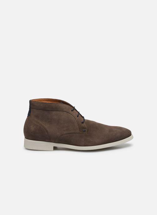 Zapatos con cordones Kost COMTE 5C Beige vistra trasera