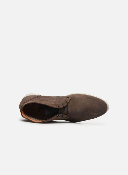 Zapatos con cordones Kost COMTE 5C Beige vista lateral izquierda