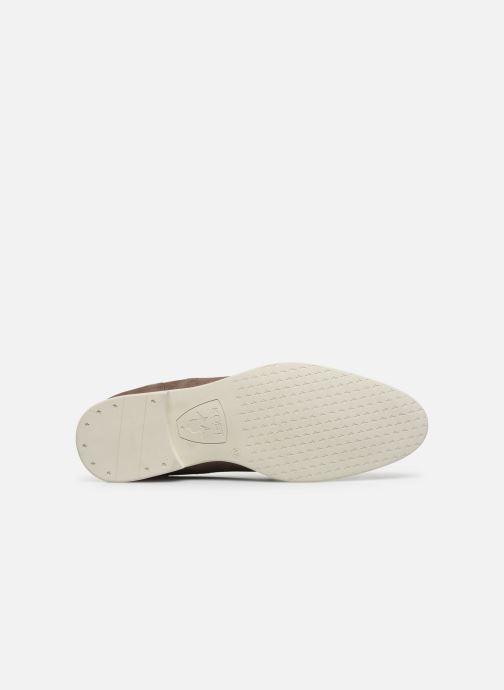 Zapatos con cordones Kost COMTE 5C Beige vista de arriba