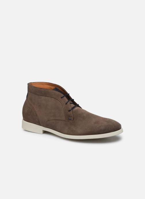 Zapatos con cordones Kost COMTE 5C Beige vista de detalle / par