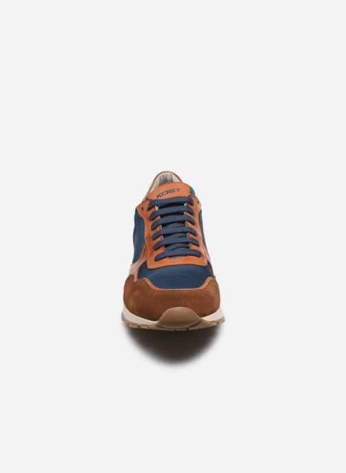 Baskets Kost HORACE 84 Marron vue portées chaussures
