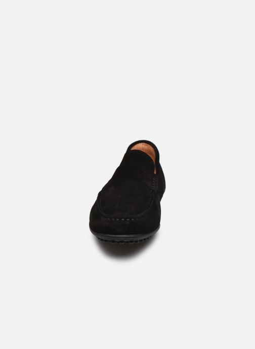 Mocassins Brett & Sons Berty Noir vue portées chaussures
