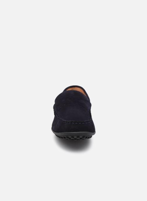Mocassins Brett & Sons Berty Bleu vue portées chaussures