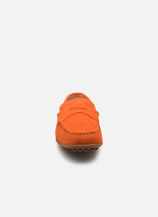 Mocassins Brett & Sons Berty Orange vue portées chaussures