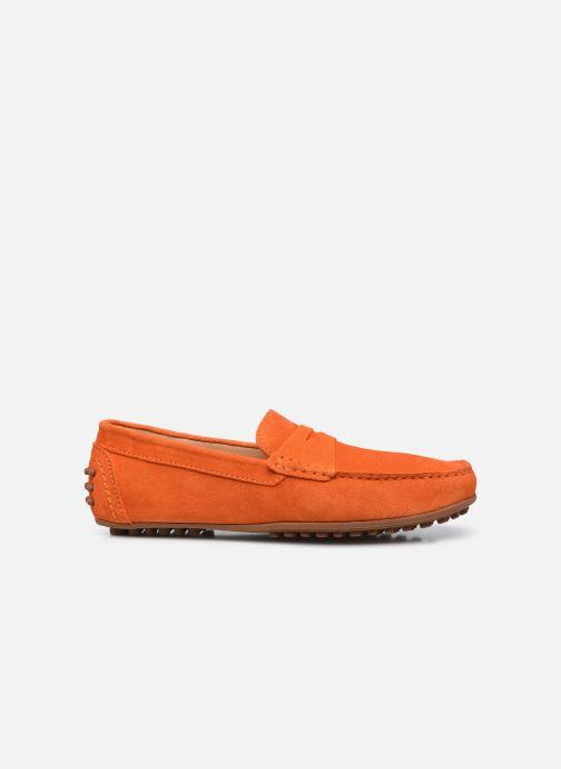Mocassins Brett & Sons Berty Orange vue derrière