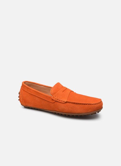 Mocassins Brett & Sons Berty Orange vue détail/paire
