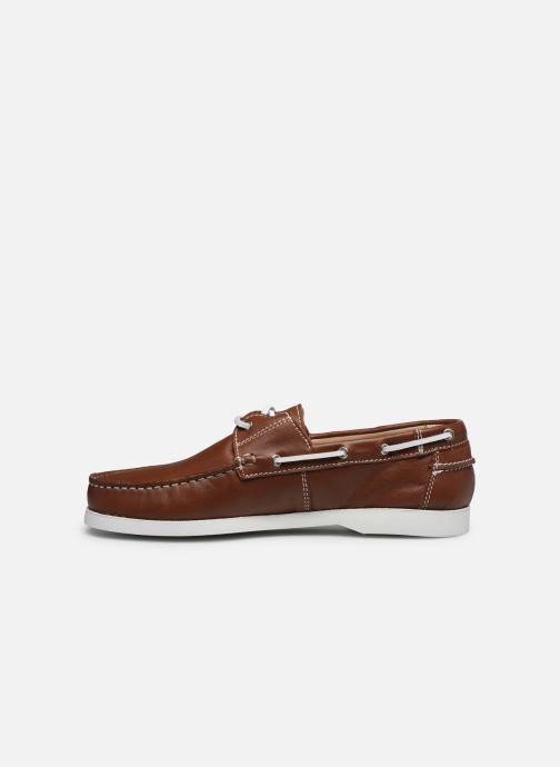 Zapatos con cordones Brett & Sons Jim Marrón vista de frente