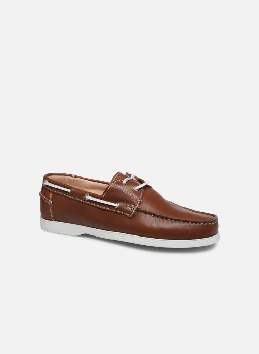 Chaussures à lacets Brett & Sons Jim Marron vue détail/paire