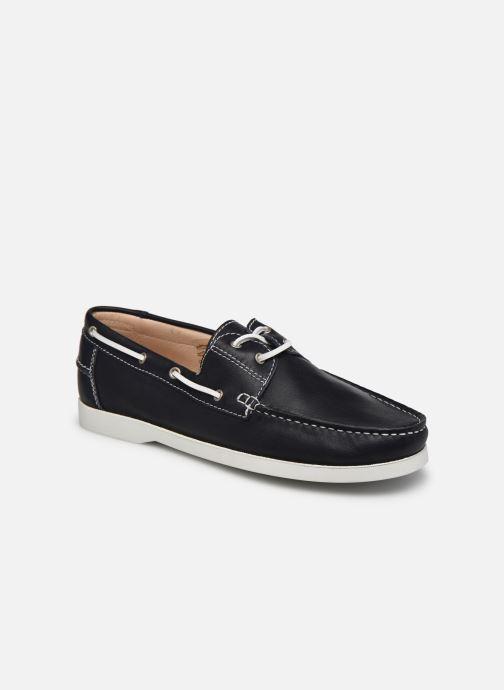Chaussures à lacets Brett & Sons Jim Bleu vue détail/paire