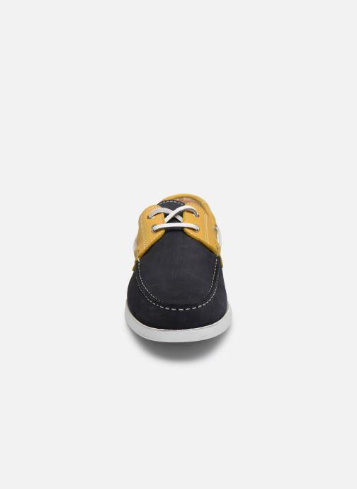 Zapatos con cordones Brett & Sons Sam Azul vista del modelo
