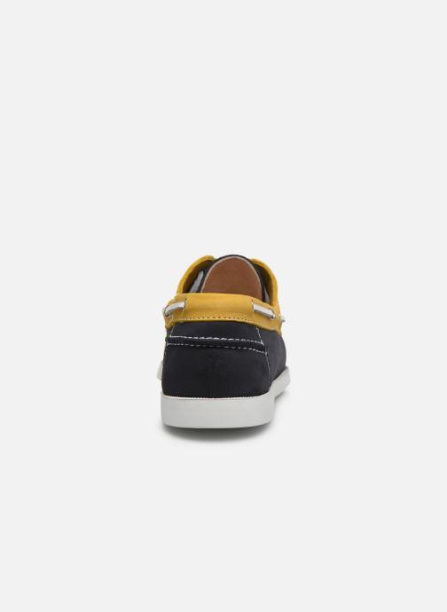 Zapatos con cordones Brett & Sons Sam Azul vista lateral derecha