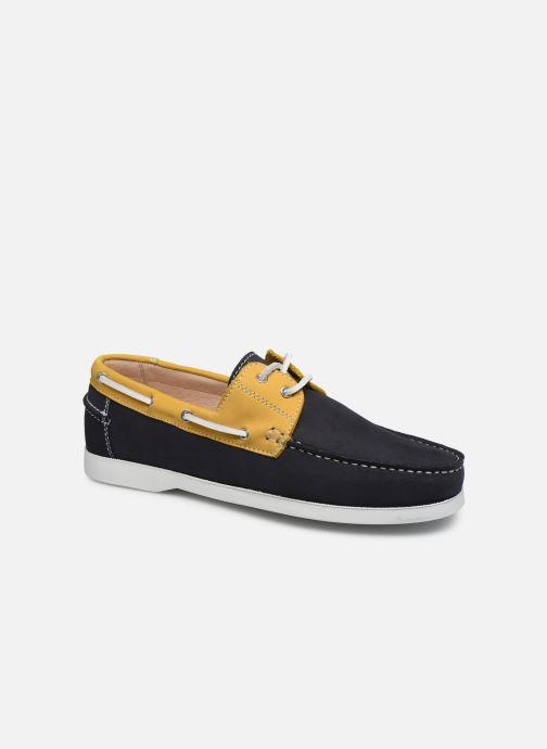 Zapatos con cordones Brett & Sons Sam Azul vista de detalle / par