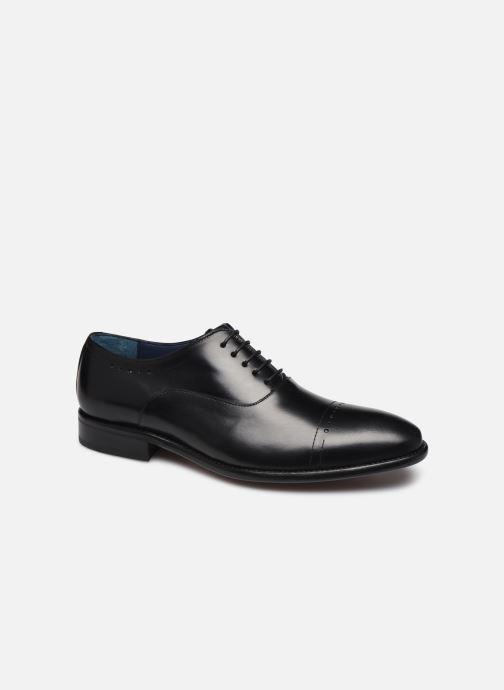 Chaussures à lacets Brett & Sons Jung Noir vue détail/paire