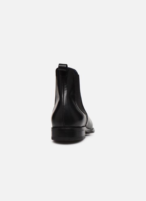 Bottines et boots Brett & Sons Momi Noir vue droite