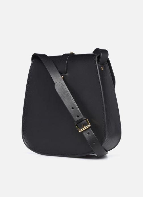 Handtaschen Herbert Frère Soeur Sab Medium schwarz ansicht von rechts