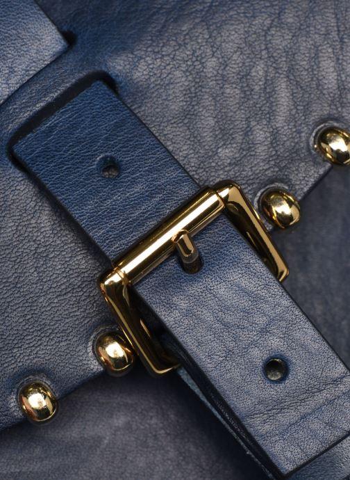 Bolsos de mano Herbert Frère Soeur Sab Rock Medium Azul vista lateral izquierda