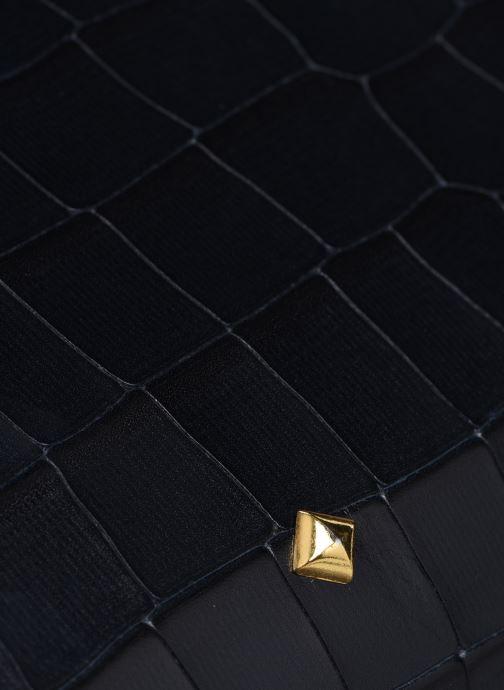 Bolsos de mano Herbert Frère Soeur Mini Bea Croco Negro vista lateral izquierda