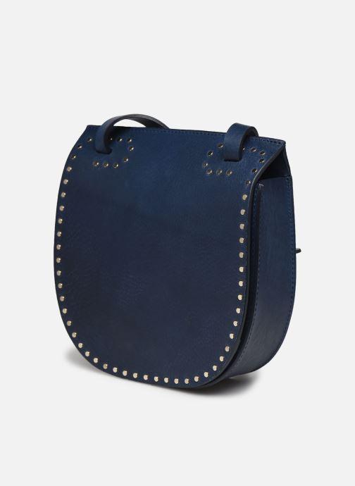 Handtaschen Herbert Frère Soeur Georges Clous blau schuhe getragen