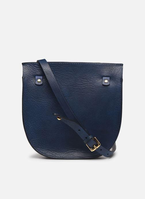 Handtaschen Herbert Frère Soeur Georges Clous blau ansicht von vorne