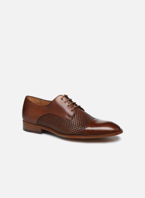 Snøresko Marvin&Co Luxe Cleverio - Cousu Blake Brun detaljeret billede af skoene