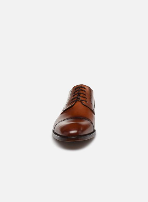 Lace-up shoes Marvin&Co Luxe Cavendy - Cousu Goodyear Brown model view