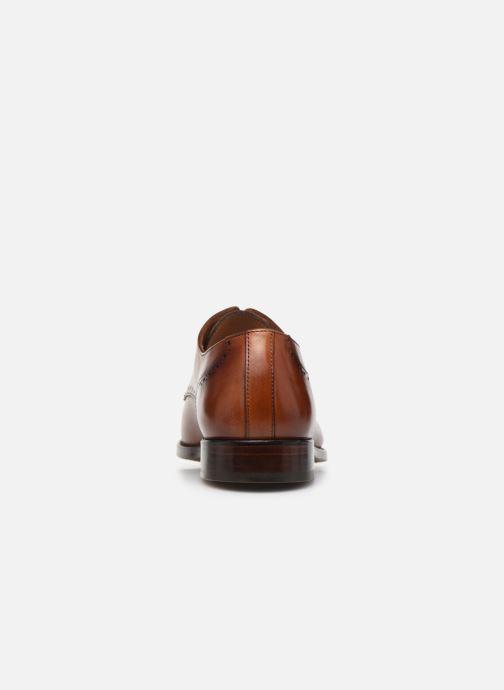Scarpe con lacci Marvin&Co Luxe Cavendy - Cousu Goodyear Marrone immagine destra