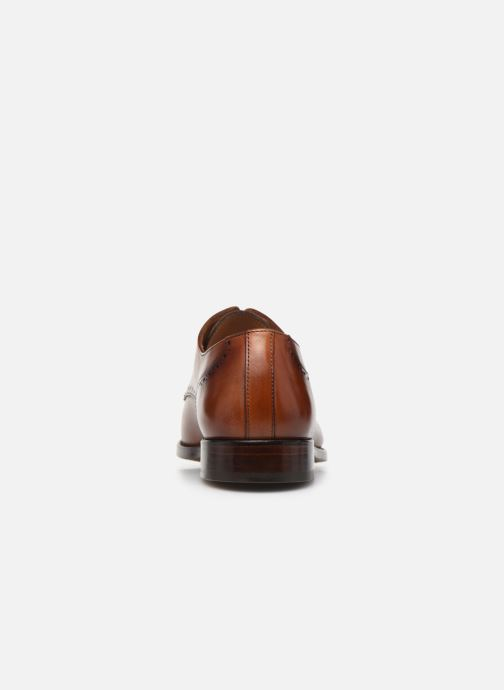 Chaussures à lacets Marvin&Co Luxe Cavendy - Cousu Goodyear Marron vue droite
