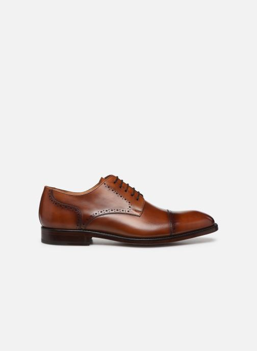 Lace-up shoes Marvin&Co Luxe Cavendy - Cousu Goodyear Brown back view